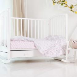 Детское постельное бельё Pink Safari