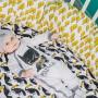 Простыня на резинке Amazing Toucans